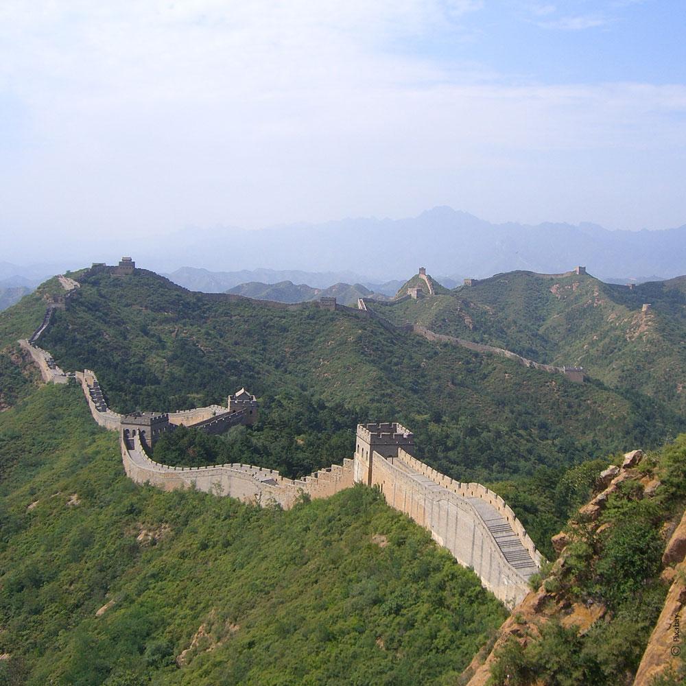 La grande muraille -Beijing - Chine