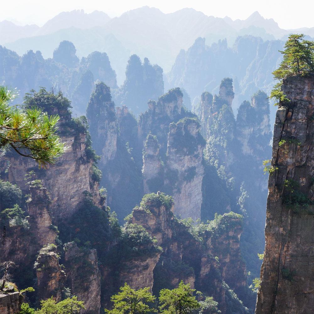 Zhangjiaje - Wuling Shan