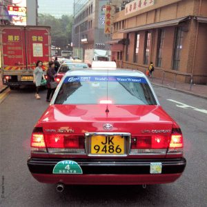 Taxi Hong-Kong - Chine