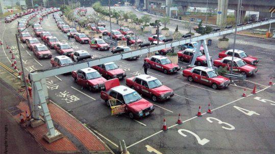 Aéroport Hong-Kong - Taxis