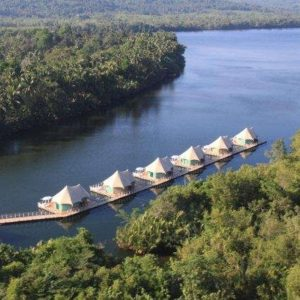 Hôtel 4 rivers floating lodge - Cambodge