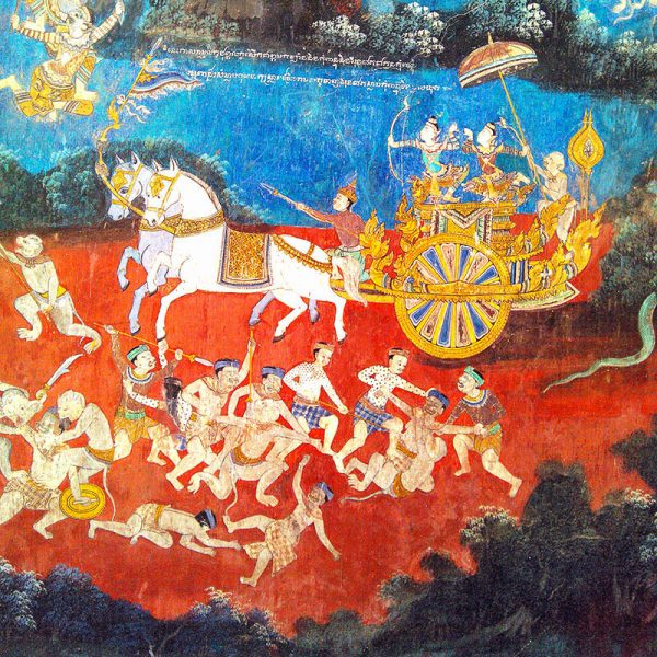 Cambodge phnom penh palais royal frise murale - Apogée Voyages