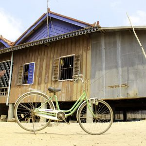 Cambodge velo maison village - Apogée voyages