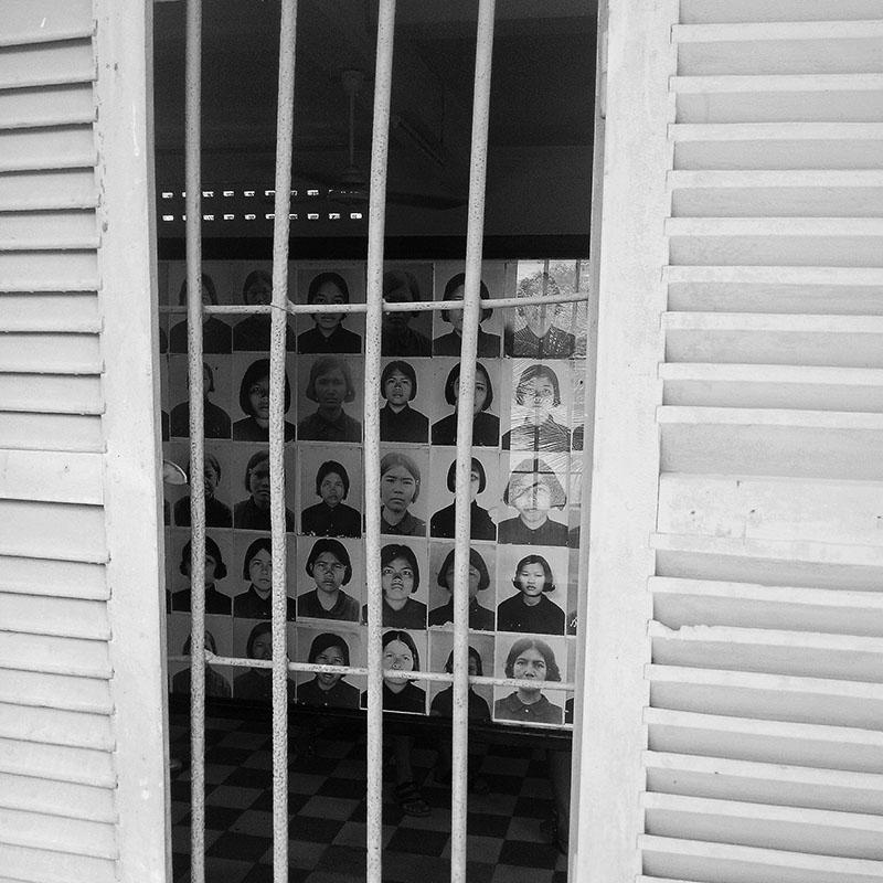 Cambodge tuol sleng prison - Apogée Voyages