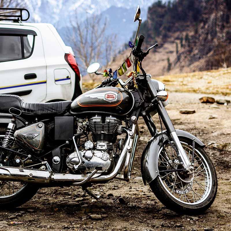 Safari moto en Inde - Apogée Voyages