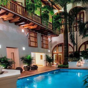 Casa San Augustin - Carthagène - Colombie - Apogée Voyages