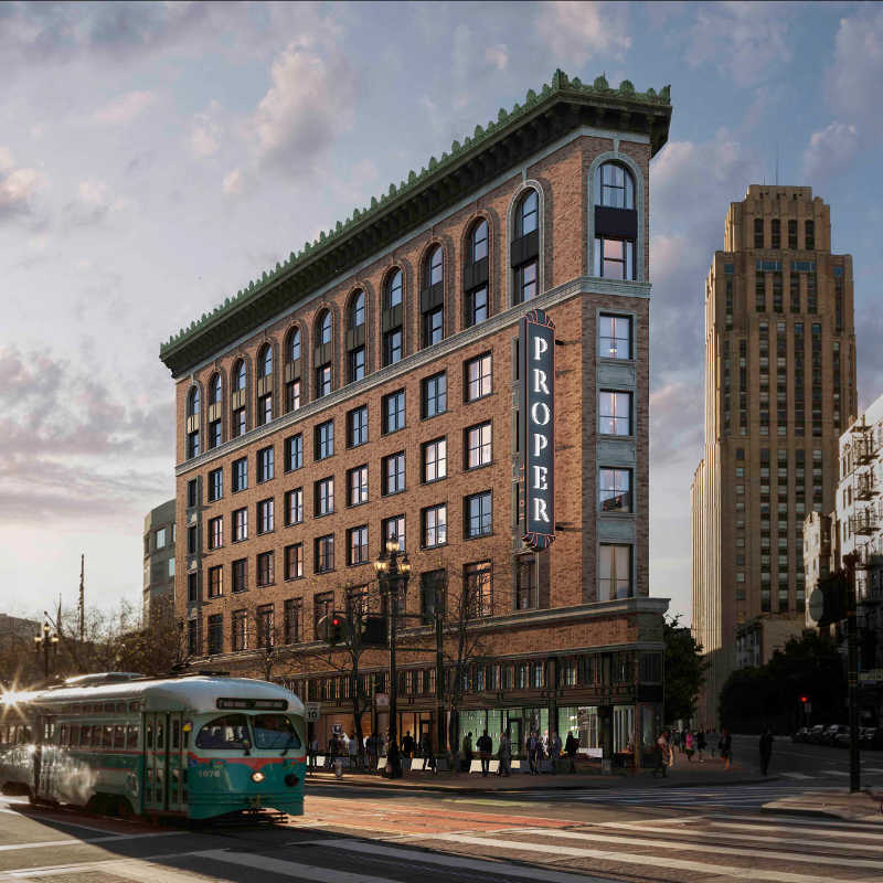 Hôtel Proper San Francisco USA - Apogée Voyages