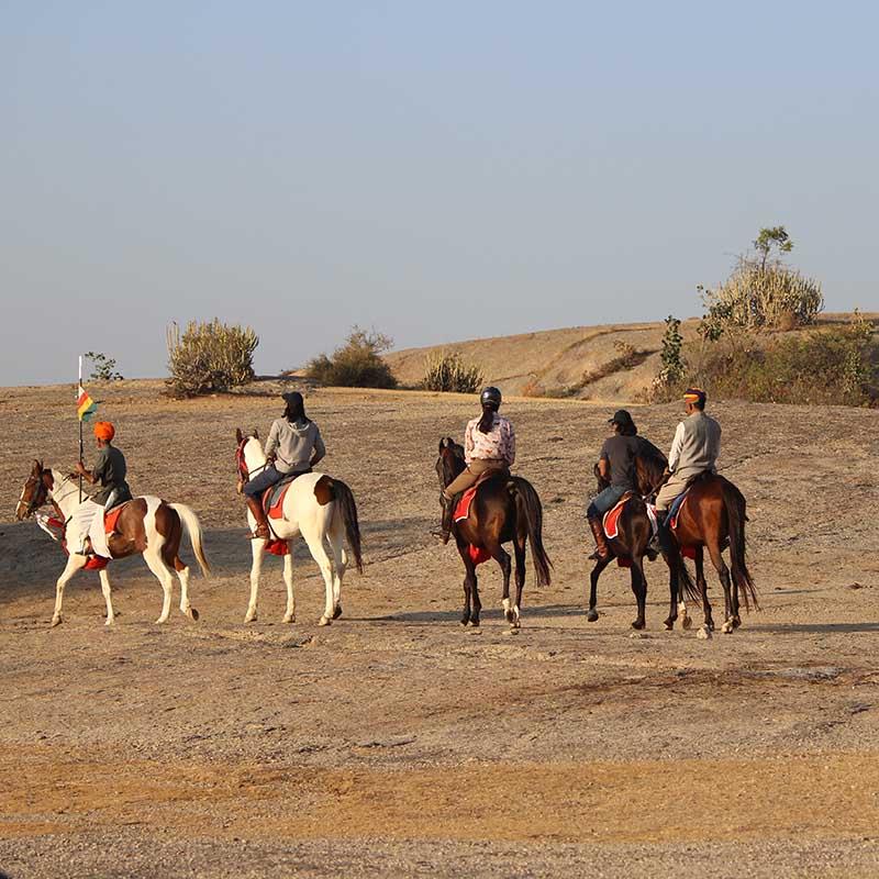 Safari à cheval au Rajasthan Inde - Apogée Voyages
