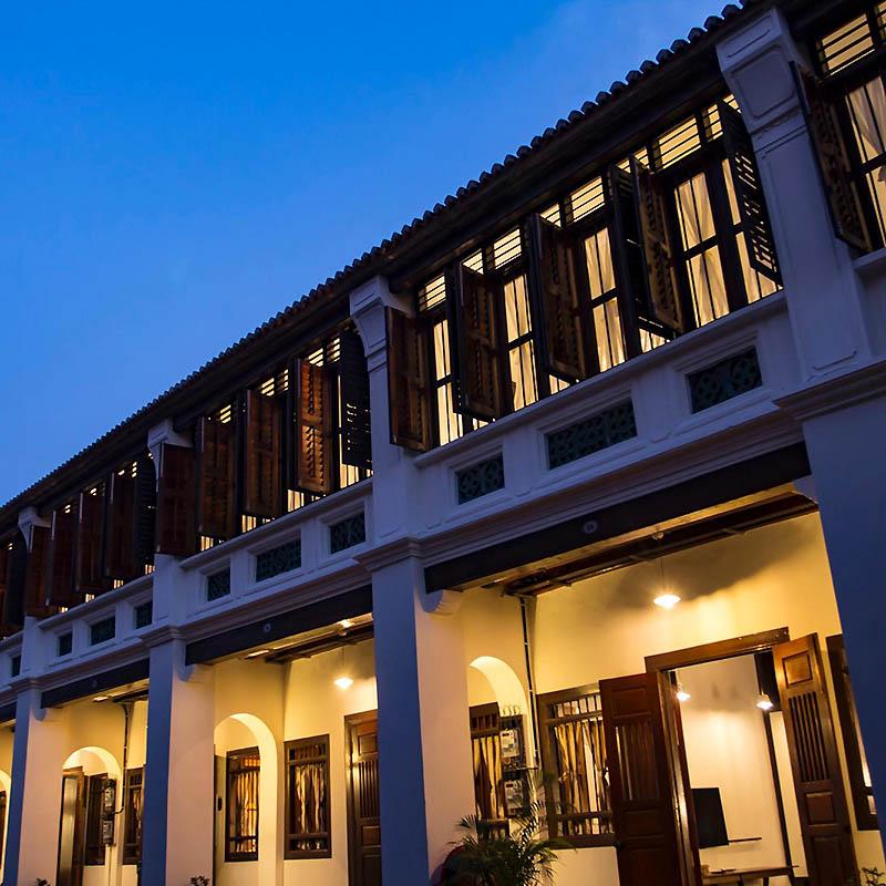 Hôtel Clans Kongsi Penang Malaisie - Apogée Voyages