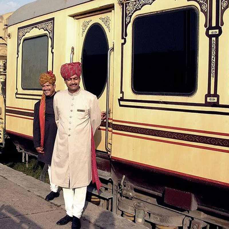 Train Royal rajasthan wheels Inde - Apogée Voyages