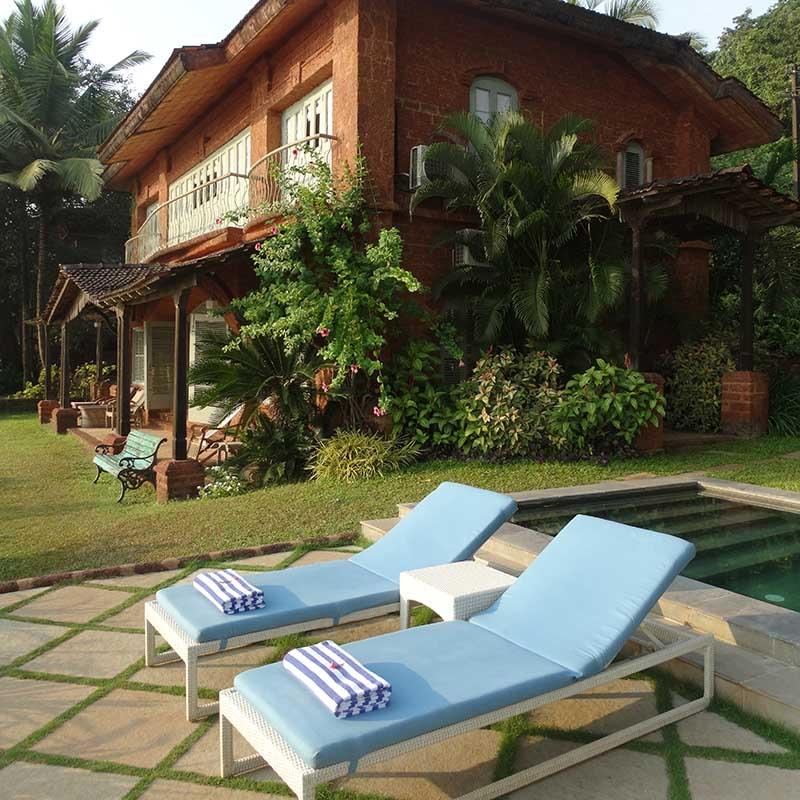 Hôtel Ahilya by the sea Goa Inde - Apogée Voyages