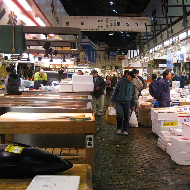 tsukiji tokyo - apogée voyages