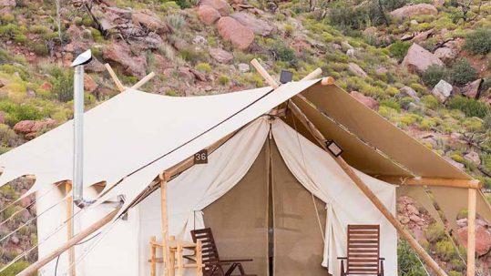 Glamping Tucson Arizona - Apogée Voyages