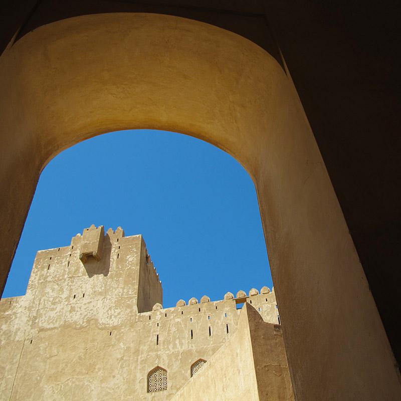 Montagnes et forteresses au Sultanat d'Oman - Apogée Voyages