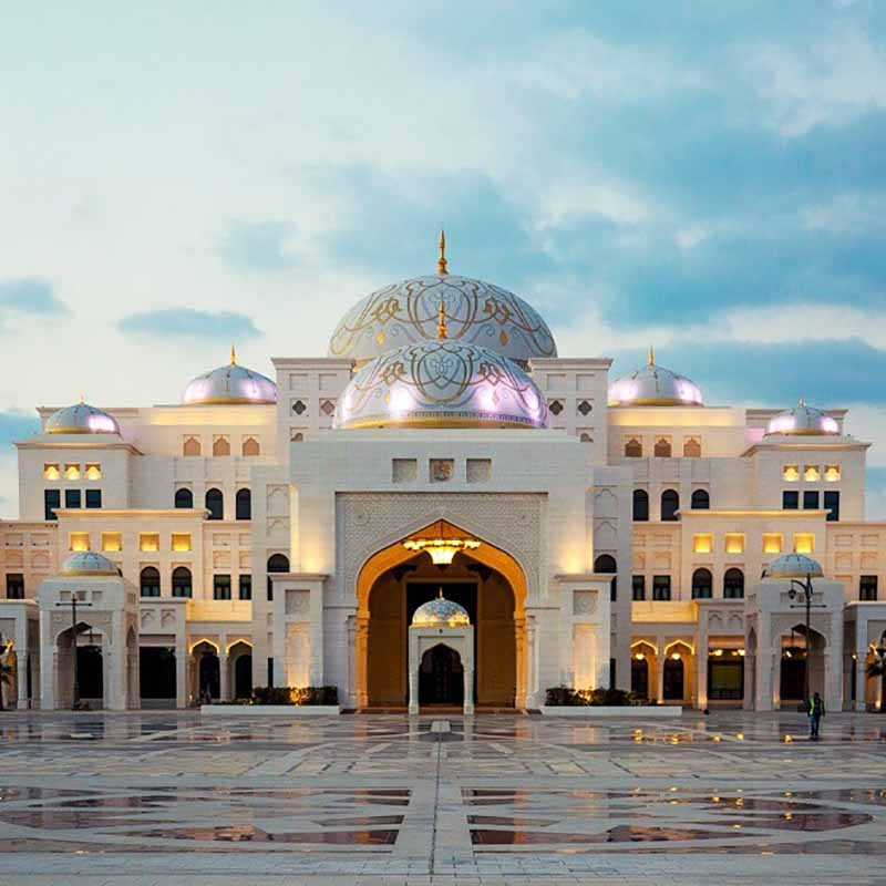 Palais Abu Dhabi - Apogée Voyages