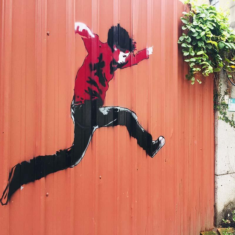 Street art Tamsui - Taiwan - Apogée Voyages