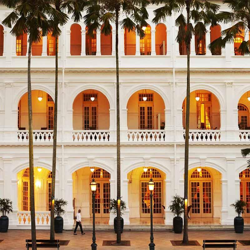 Hôtel Raffles Singapour - Apogée Voyages