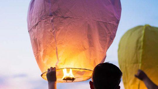 thailande loy krathong lampions enfants - apogée voyages