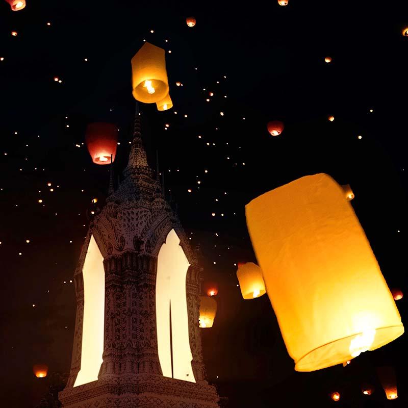 fête thaïlande loy krathong - apogée voyages