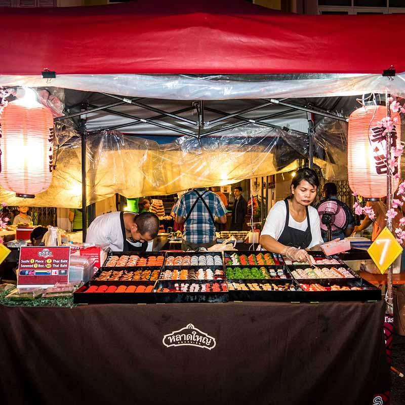 Safari culinaire marchés Chiang Mai Thaïlande - Apogée Voyages