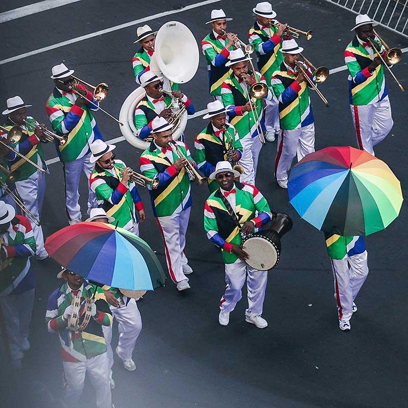 Nouvel an à Cape Town au Coon carnival -Apogée Voyages