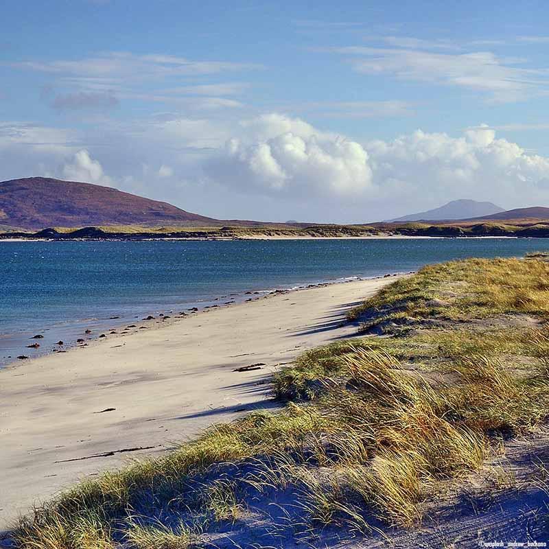 Nage en eau libre îles Hebrides exterieures en Ecosse - Apogée Voyages