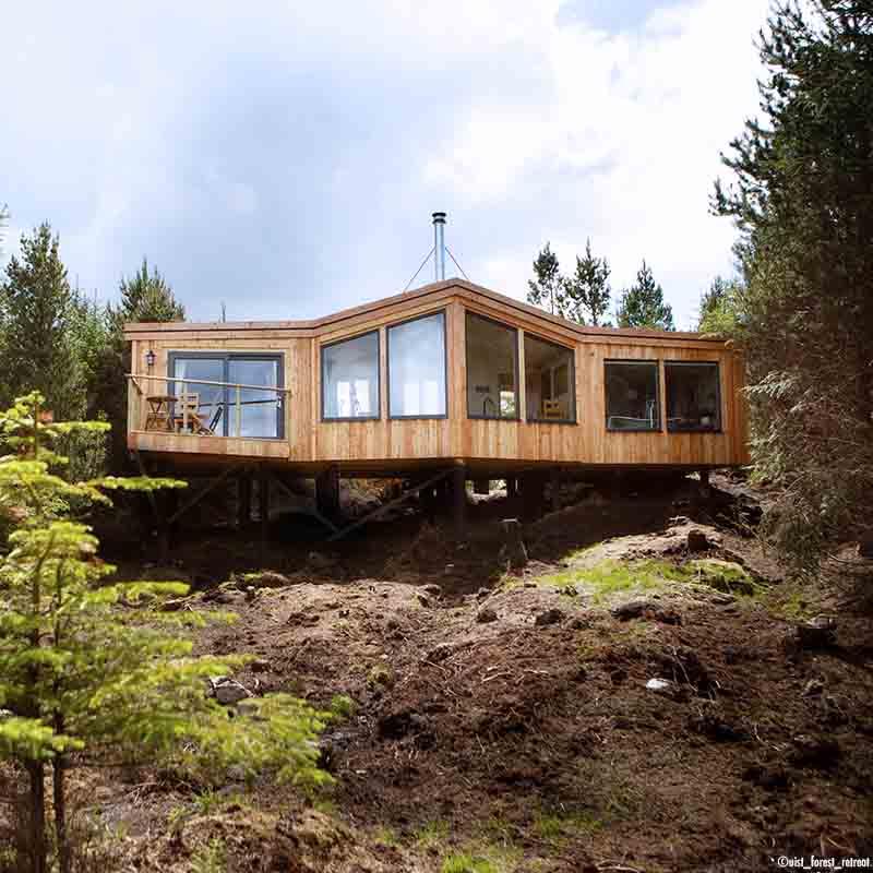 Uist Forest Retreat, cabanes, aigles, eau millénaire - Apogée Voyages