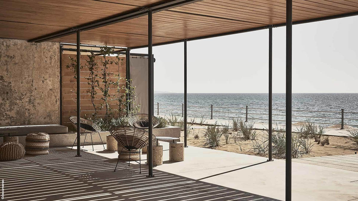Dexamenes Hotel Grece - Beach Bar - Apogée Voyages